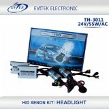 Xenon HID Kits 55W HID voor AC 24V Slim Ballast 6000k Xenon Lamp HID Bulb