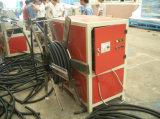 Production de pipe du plastique PE/PP/PVC/ligne ondulées à mur unique d'extrusion