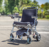LiFePO4 건전지를 가진 경량 Foldable 자동 휠체어