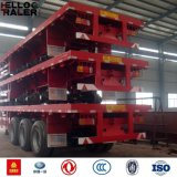 Flatbed Semi Aanhangwagen van uitstekende kwaliteit/de Aanhangwagen van de Container
