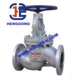 Válvula de globo industrial del borde neumático del acero inoxidable de API/DIN