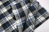Form überprüft Baumwollgarn gefärbtes Shirting Gewebe 100%