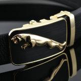 Personalizzare la cinghia di cuoio rovesciabile degli uomini della pelle bovina del leopardo