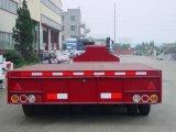 60 Tonnen-niedriger Bett-halb Schlussteil mit Behälter-Torsion 4