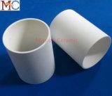 99.7% tube en céramique de l'alumine Al2O3 précise élevée
