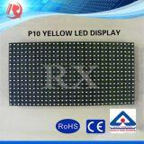Affichage à LED d'utilisation extérieure et de la publicité extérieure De jaune de Pixel de 10mm