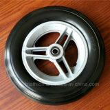 6X2 6X1 6X1.5 Rollstuhl-feste Gummipolyurethan-Schaumgummi-Gummireifen-Reifen u. Räder mit Gabel