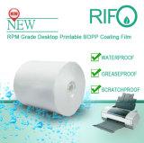 탁상용 인쇄할 수 있는 레이블을%s Rpm 145 백색 연약한 BOPP 물자
