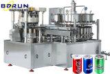 Machine remplissante carbonatée de cachetage de bidon de boisson