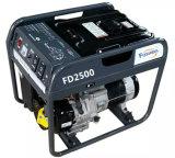 가정 전력 공급을%s 2kVA AC 단일 위상 유형 휴대용 가솔린 발전기