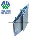 Trilho leve perfis de alumínio usados da extrusão