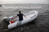 Liya 3.0-4.2 medidores de fibra de vidro High-Intensity que compete o barco rígido do barco de enfileiramento