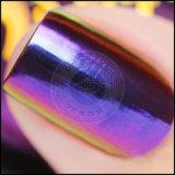 Порошок слюды салона ногтя косметического цвета хамелеона изменяя