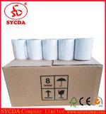 Roulis chaud de papier thermosensible de l'impression PDQ de fax d'atmosphère de la vente 55g 80mm*80mm