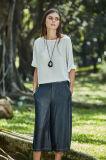 Il nuovo modo ansima vita casuale europea delle donne eleganti della signora Design Wide Leg Trouser di stile l'alta