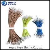 Alambre eléctrico aislado y cable materiales del conductor del tipo y del cobre