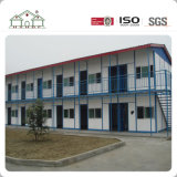 Casa modulare della costruzione prefabbricata della struttura d'acciaio della costruzione dell'installazione veloce