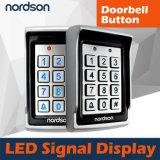 Nt106機密保護の金属の明るいの単一のドアのアクセス制御システム
