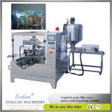 Agua potable automática, empaquetadora rotatoria de la miel