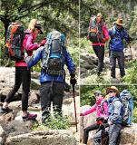 De verkoopbare Zak van het Alpinisme, de Zak van Schouders, de Rugzakken van de Trekking maakt 55L waterdicht