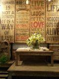 Retrato impresso moderno da arte da parede da letra para a decoração Home