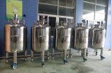Réservoir de stockage stérile vertical d'acier inoxydable pour la nourriture