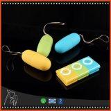 Volwassen Producten van het Speelgoed van het Geslacht van Massager van het Lichaam van het Ei van de Vibrators van de Afstandsbediening van de Stijl van het Ei van de sprong de Draadloze Waterdichte MP3 Trillende voor Vrouwen