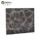 Tarjeta del panel decorativa laminada del óxido de magnesio