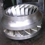 Moulage au sable de turbine de pompe centrifuge personnalisé