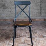 金属の家具の十字の背部椅子