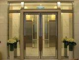 Puertas cortafuego internas con los paneles de cristal