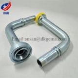 Flangia 88191 che misura la flangia di JIS flangia industriale del montaggio di tubo flessibile del combustibile idraulico della flangia del gomito da 90 gradi