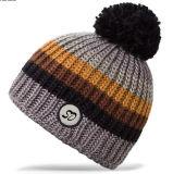 [بني] قبعة جمجمة قبعة يحبك قبعة