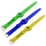 Wristband do Hf RFID do silicone de Individuelle no hospital