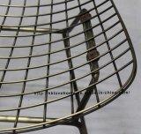 Het Dineren van de Draad van het Metaal van het Meubilair van het Restaurant van de replica de OpenluchtStoel van de Tuin