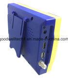 """A C.C. 12.5V Output o medidor satélite do inventor de 4.3 """" Digitas com saída de HDMI"""