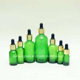 De kleurrijke Fles Van uitstekende kwaliteit van de Essentiële Olie van het Glas van de Verscheidenheid (v-2012)