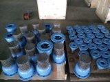 Valvola d'aspirazione duttile di BACCANO del ferro Pn16 con il rivestimento a resina epossidica blu