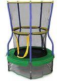 A rede de segurança superior do cerco do Trampoline do salto cabe em volta dos frames Using