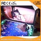 Etapa a todo color de interior P4.81 que hace publicidad de la visualización de LED de alquiler