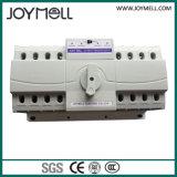 Interruptor automático elétrico de transferência 2p de 1A a 63A