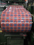 Vooraf geverfte Galvalume Rol 6001250mm Breedte PPGI voor het Blad van het Dakwerk