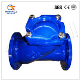 Válvula de retención de bola de extremo de hierro fundido / hierro dúctil con revestimiento de epoxi