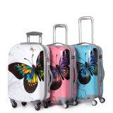 geval het met 4 wielen van het Karretje van het Karretje Luggage/PC van de Reis