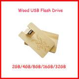 Aandrijving van de Flits van de Kaart Pendrive de Houten USB van de wartel USB Pendrive USB