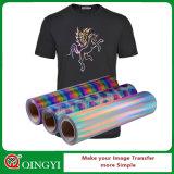 Qingyiの最もよい品質のホログラムの熱伝達のビニールはのための身に着けている