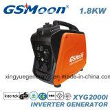 Standard-Inverter-Benzin-Generator Wechselstrom-einphasiger 1.7kVA 4-Stroke kompakter super leiser mit Cer, GS, EPA, PSE Zustimmung