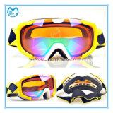 Occhiali di protezione di sicurezza di sci antinebbia di Eyewear del grande obiettivo sferico del PC per gli uomini