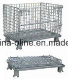 Lager-Metallfaltender Speicher-Maschendraht-Rahmen-Behälter
