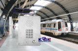 Los teléfonos de manos libres del teléfono resistente al vandalismo de intercomunicación de emergencia Knzd-06